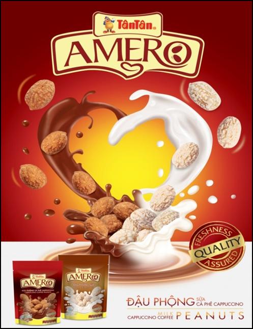 Đậu phộng AMERO - Dòng sản phẩm của Tân Tân